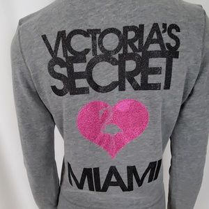 Victorias Secret Supermodel Essentials Grey Hoodie
